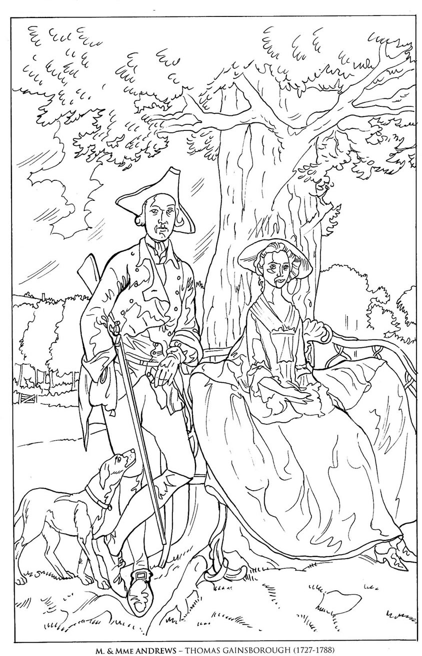 famous artists coloring pages famous paintings van gogh vermeer flowers american gothic famous artists coloring pages