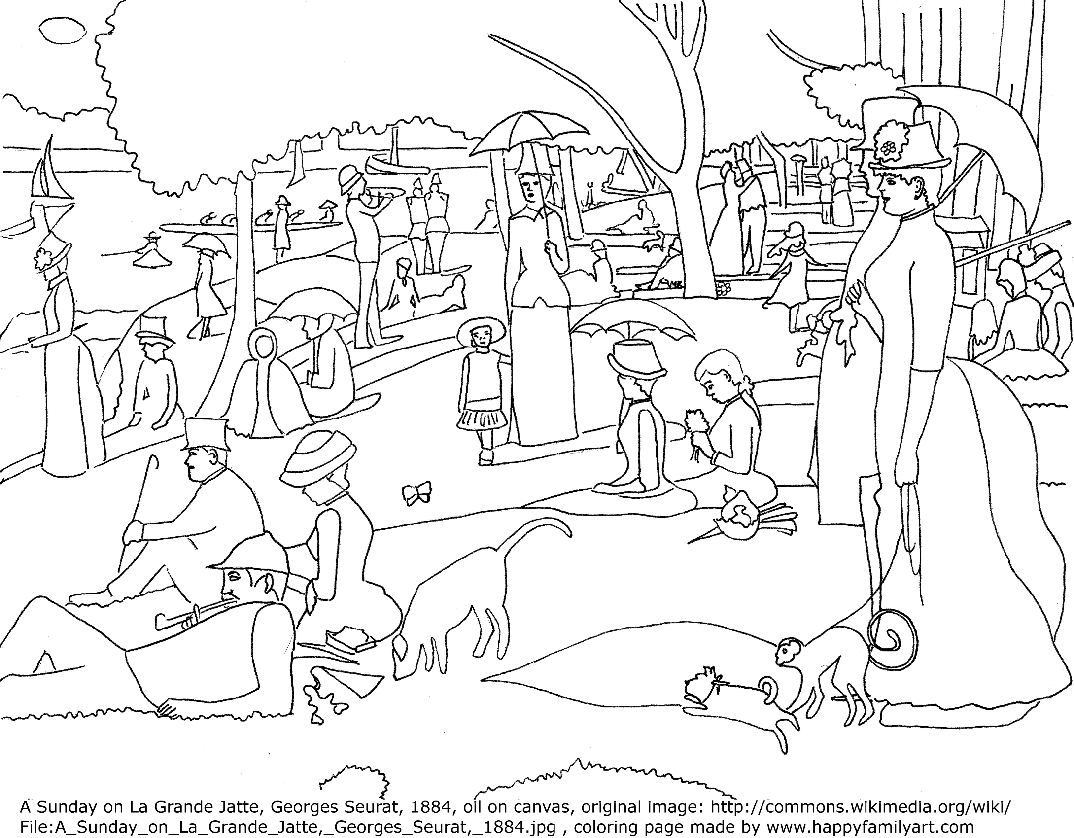 famous artists coloring pages happy family art original and fun coloring pages famous pages artists coloring