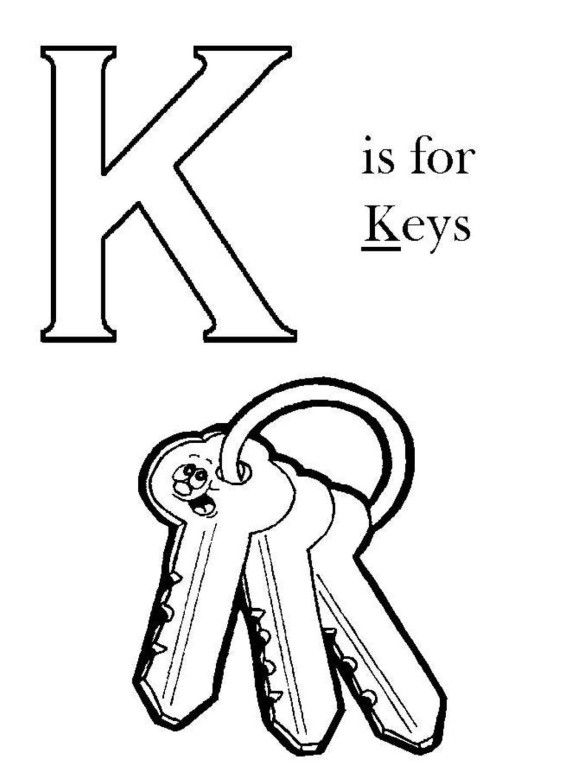 fancy k coloring pages letter k coloring page coloring home fancy k pages coloring