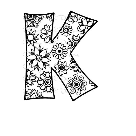 fancy k coloring pages letter k coloring page coloring home fancy k pages coloring 1 1