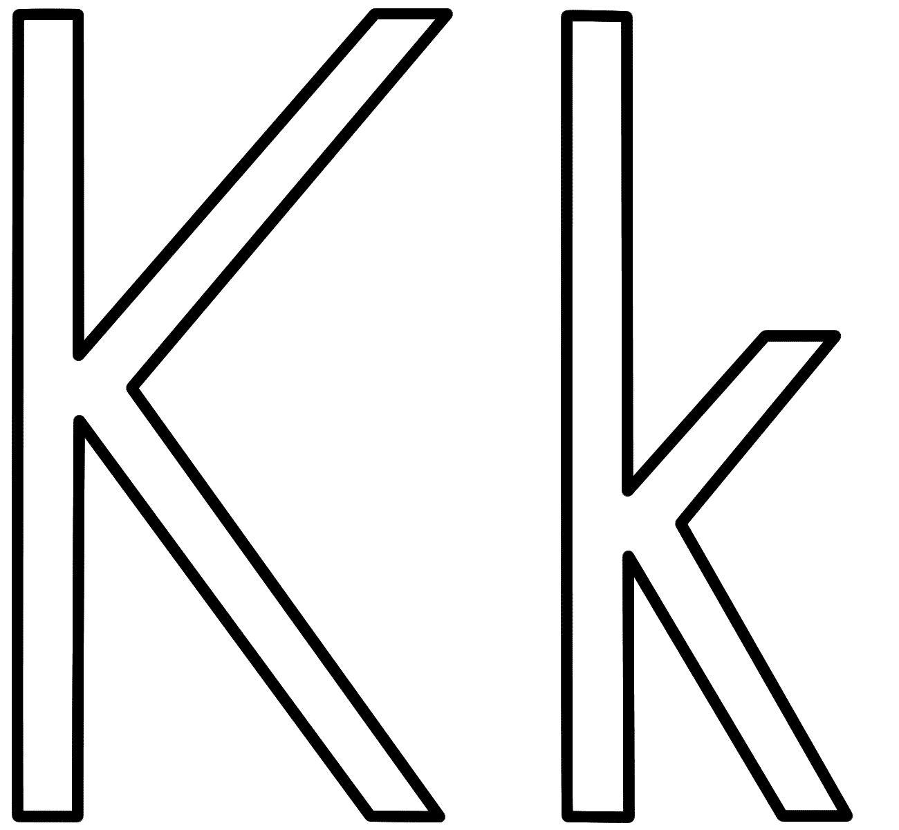 fancy k coloring pages letter k is for kitten coloring page free printable pages k fancy coloring