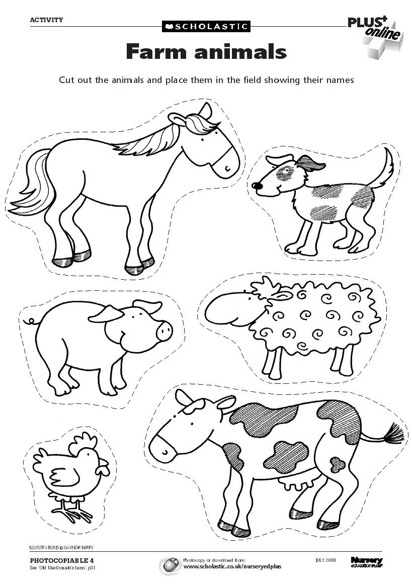 farm animals pictures printable farm animal coloring pages to download and print for free farm pictures printable animals