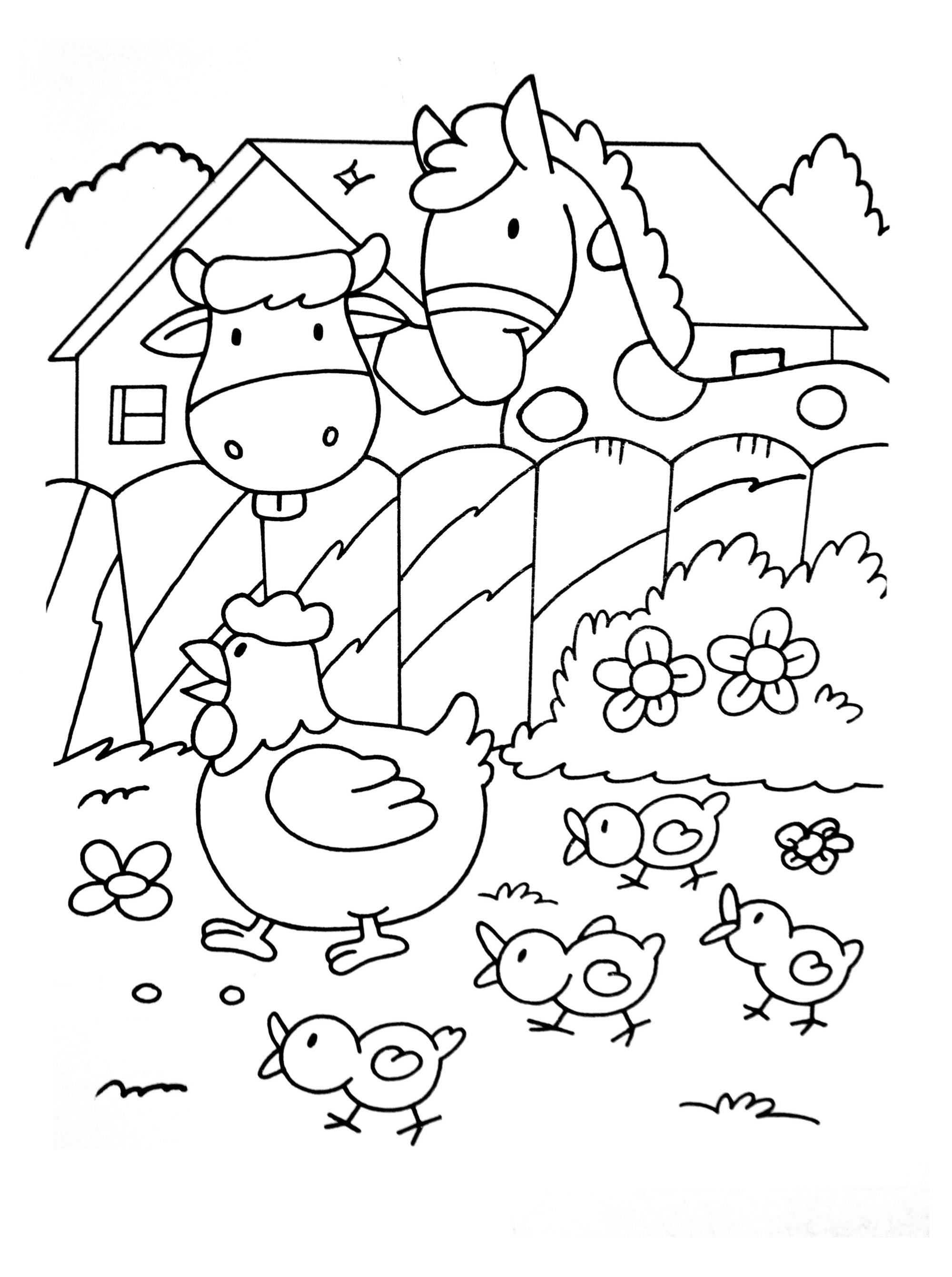 farm coloring pages diy farm crafts and activities with 33 farm coloring farm pages coloring