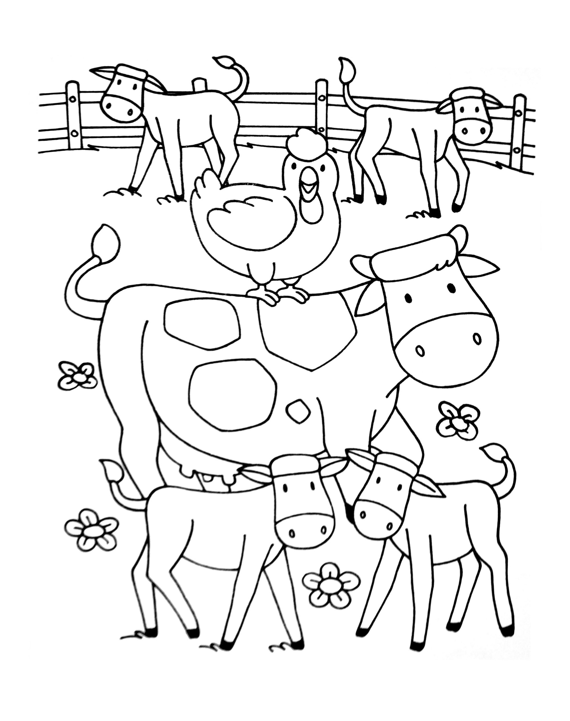 farm coloring pages farm animals to color thebooks farm coloring pages