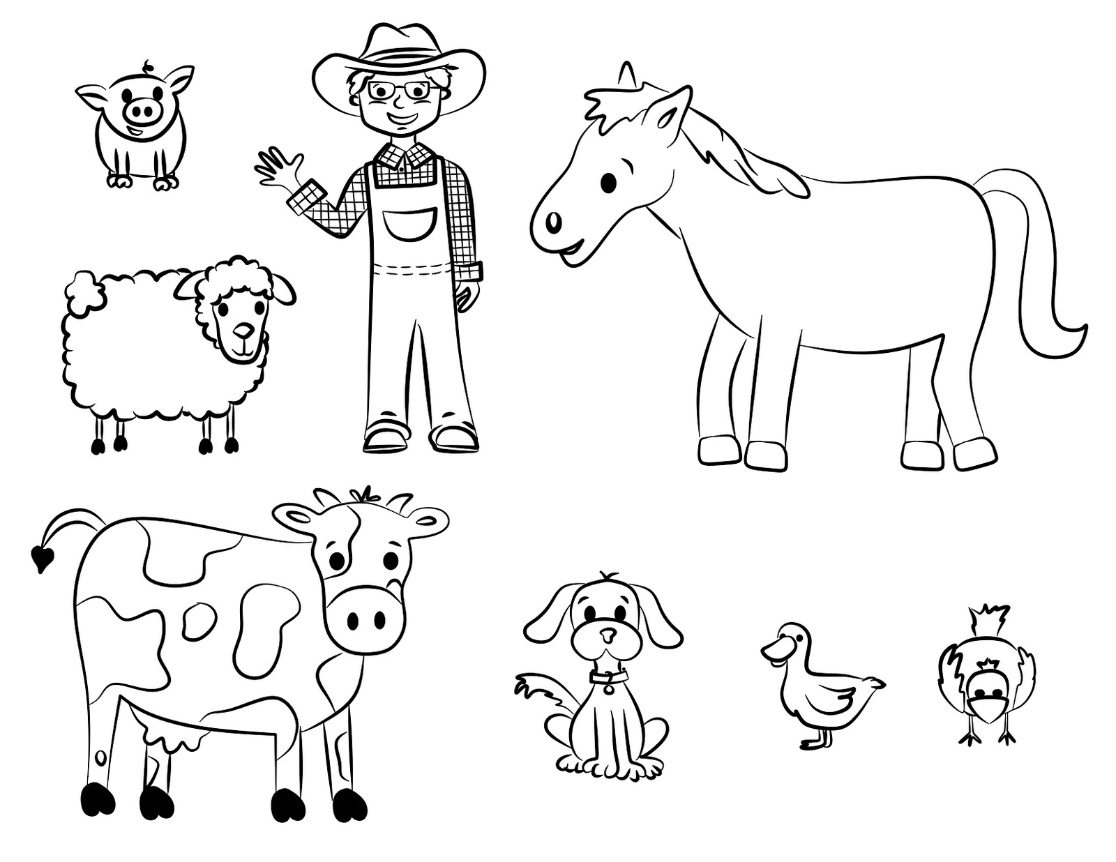 farm coloring pages farm colouring in poster by really giant posters coloring pages farm