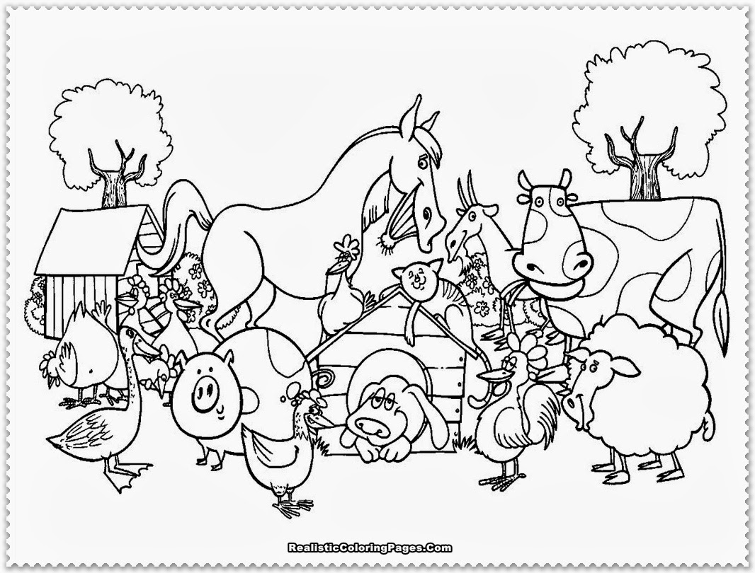 farm coloring pages farm to color for children farm kids coloring pages pages farm coloring