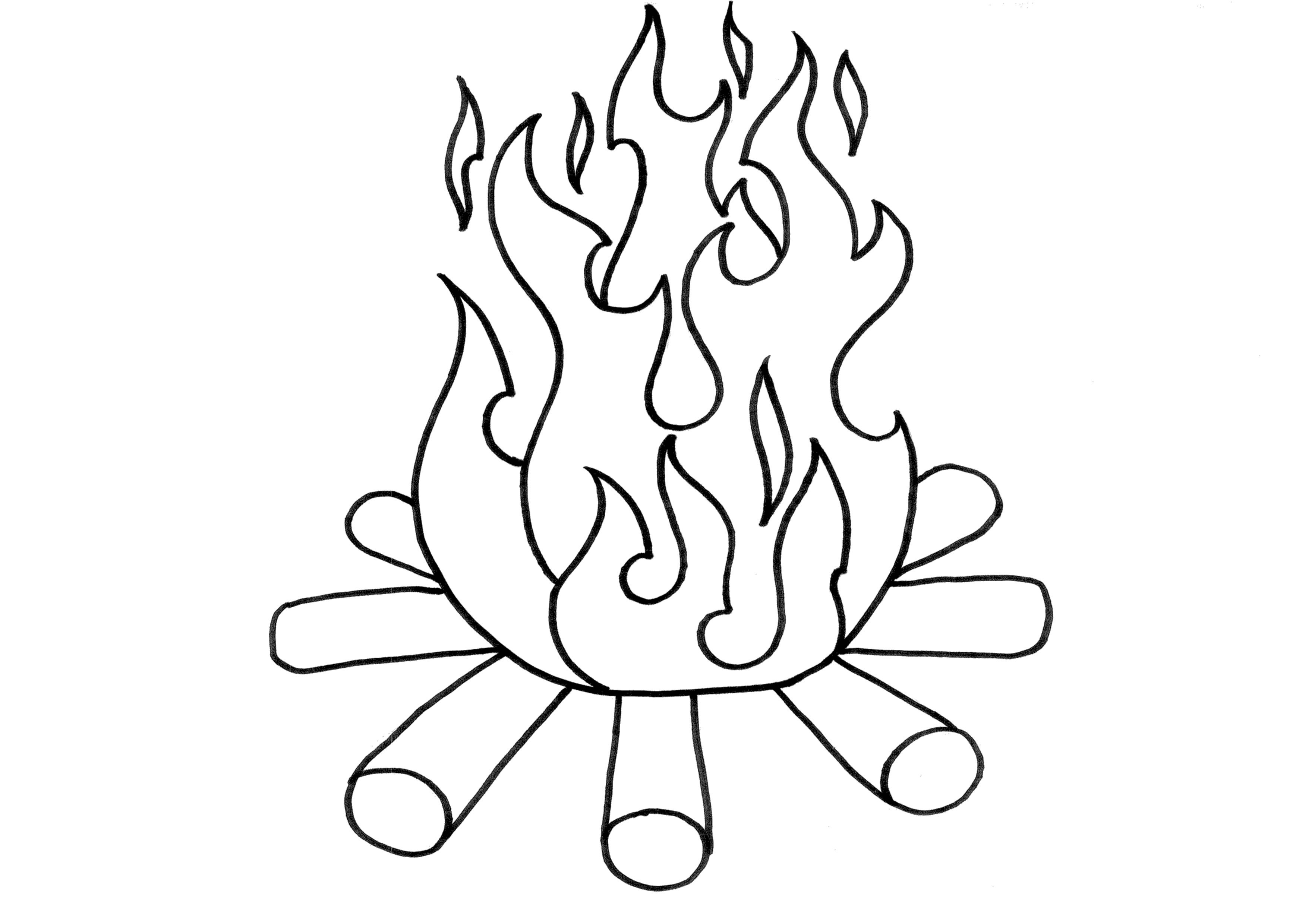 fire coloring pages printable campfire coloring page print color fun fire printable coloring pages