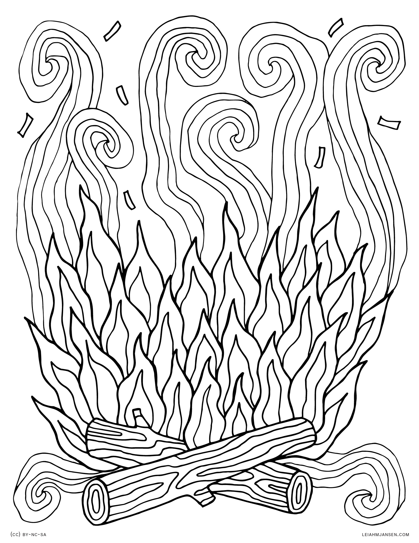 fire coloring pages printable campfire coloring pages getcoloringpagescom printable pages coloring fire