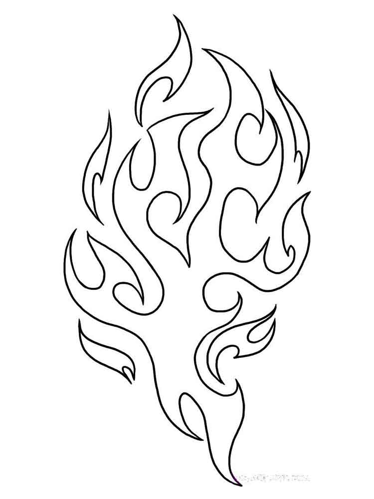 fire coloring pages printable flames coloring pages coloring home pages coloring printable fire