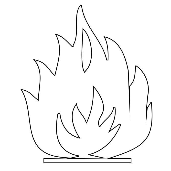 fire coloring pages printable free printable flame coloring pagesfree fire coloring printable pages