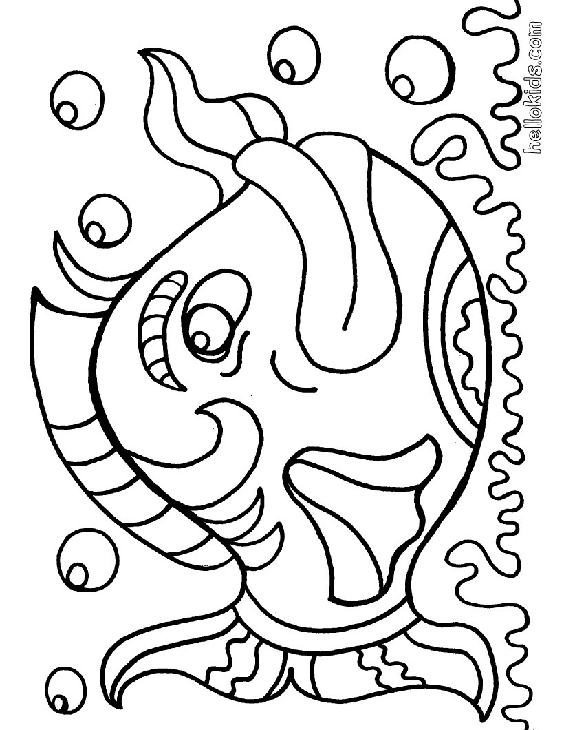 fish hook coloring pages kids drawing of bea goldfishberg of fish hooks coloring fish pages hook coloring