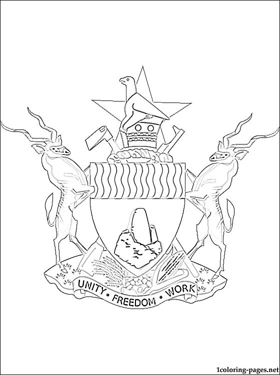 flag of zimbabwe coloring page 25 best images about printable flags on pinterest coloring zimbabwe of page flag