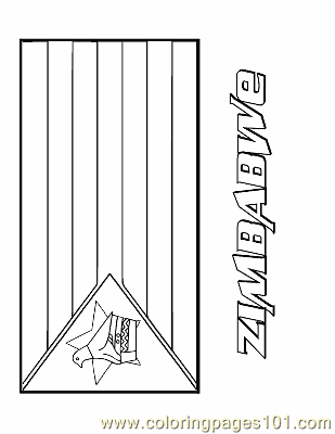 flag of zimbabwe coloring page coloring pages zimbabwe education gt flags free zimbabwe page coloring flag of