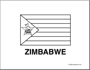 flag of zimbabwe coloring page flag zimbabwe line drawing of zimbabwe flag to color page coloring zimbabwe of flag