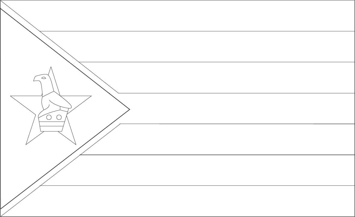 flag of zimbabwe coloring page zimbabwe flag coloring page sonlight core c window on page zimbabwe coloring of flag