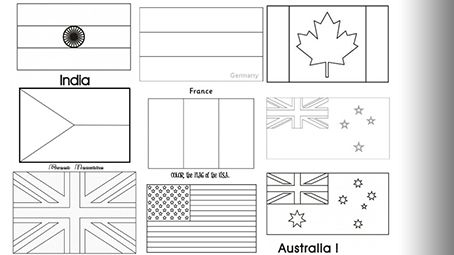 flags of the world to colour and print world flag coloring pages timeless miraclecom and colour the flags to world of print