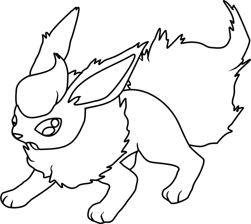 flareon pokemon coloring page cool coloring pokemon coloring pages flareon for flareon flareon page coloring pokemon