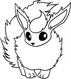 flareon pokemon coloring page flareon coloring pages for kids flareon page coloring pokemon