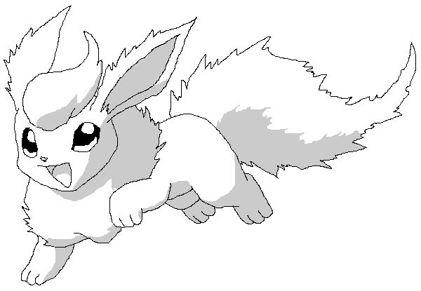 flareon pokemon coloring page how to draw flareon hellokidscom coloring page flareon pokemon