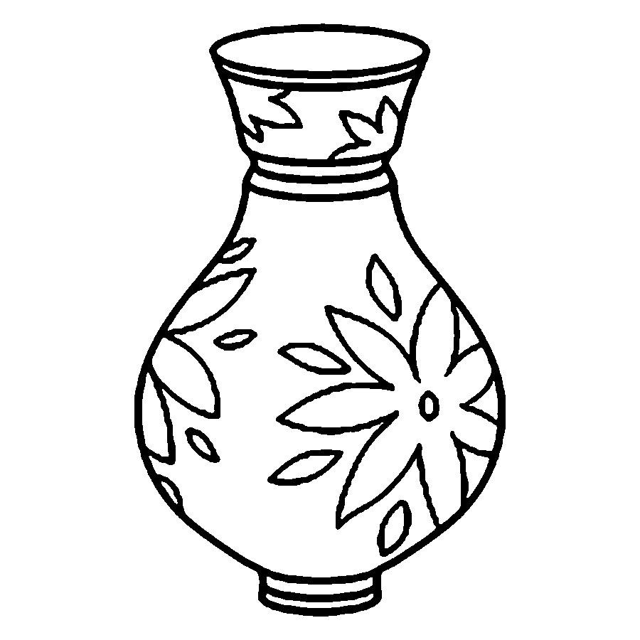 flower vase pictures to color flowers in a vase coloring pages download and print flower vase color to pictures