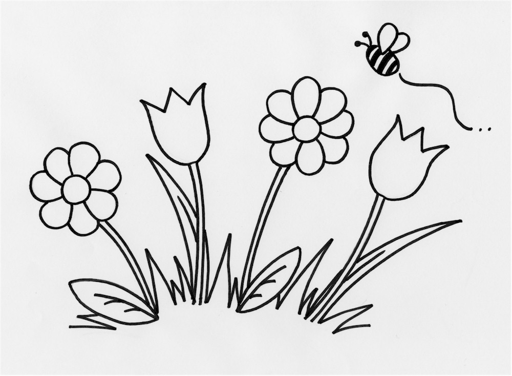 flowers outlines for colouring colouring for kids things to do about the uk outlines flowers for colouring