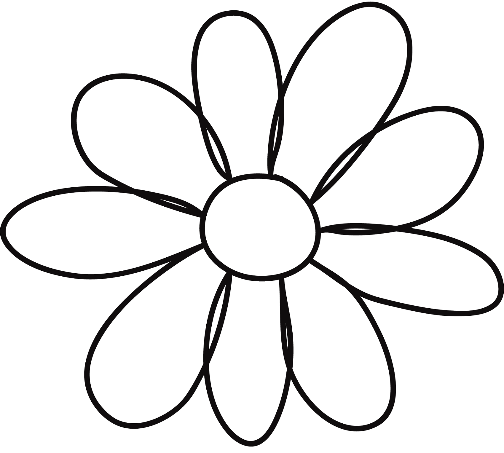flowers outlines for colouring flower template for children39s activities activity shelter for outlines colouring flowers