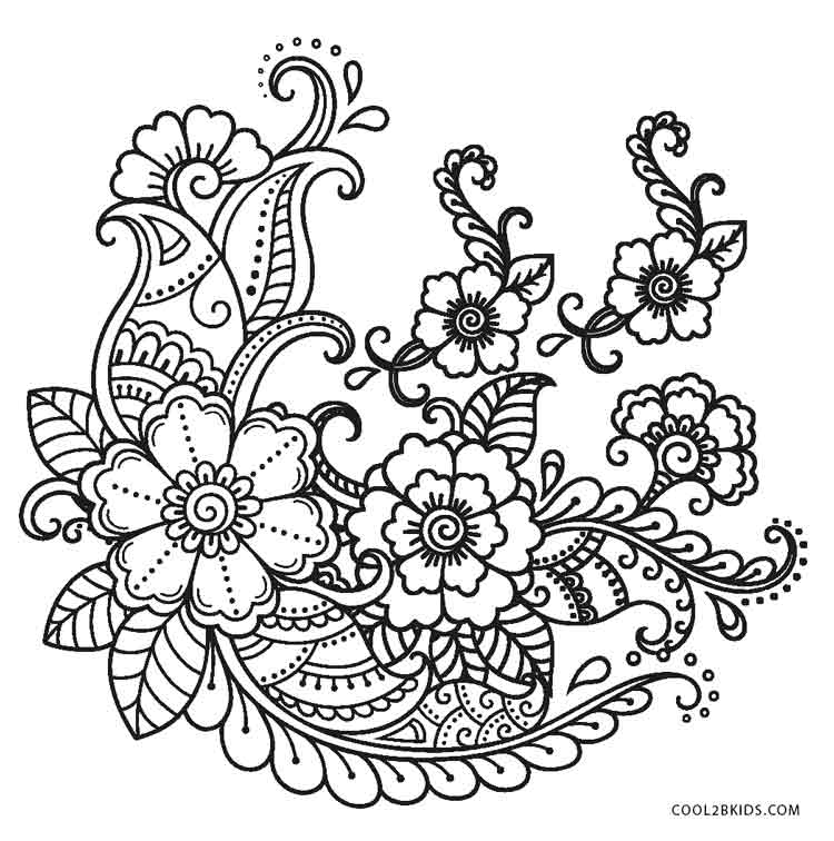 flowers to color free printable hibiscus coloring pages for kids flowers color to
