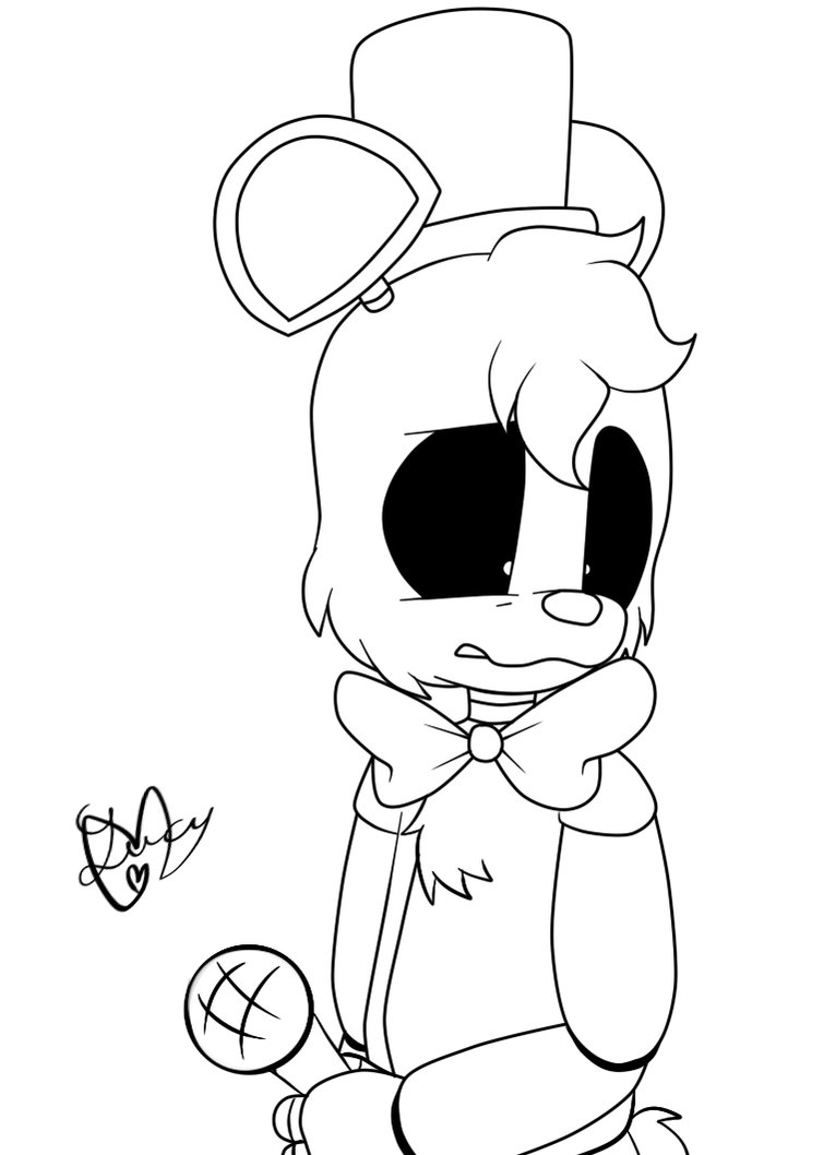 fnaf coloring pages golden freddy how to draw golden freddy five nights at freddys step by coloring fnaf golden freddy pages