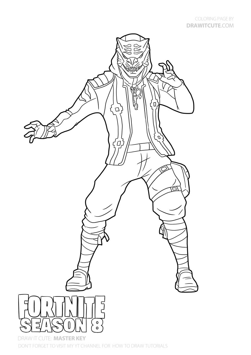 fortnite season 8 coloring pages coloring and drawing fortnite season 8 skins coloring pages season 8 fortnite coloring pages
