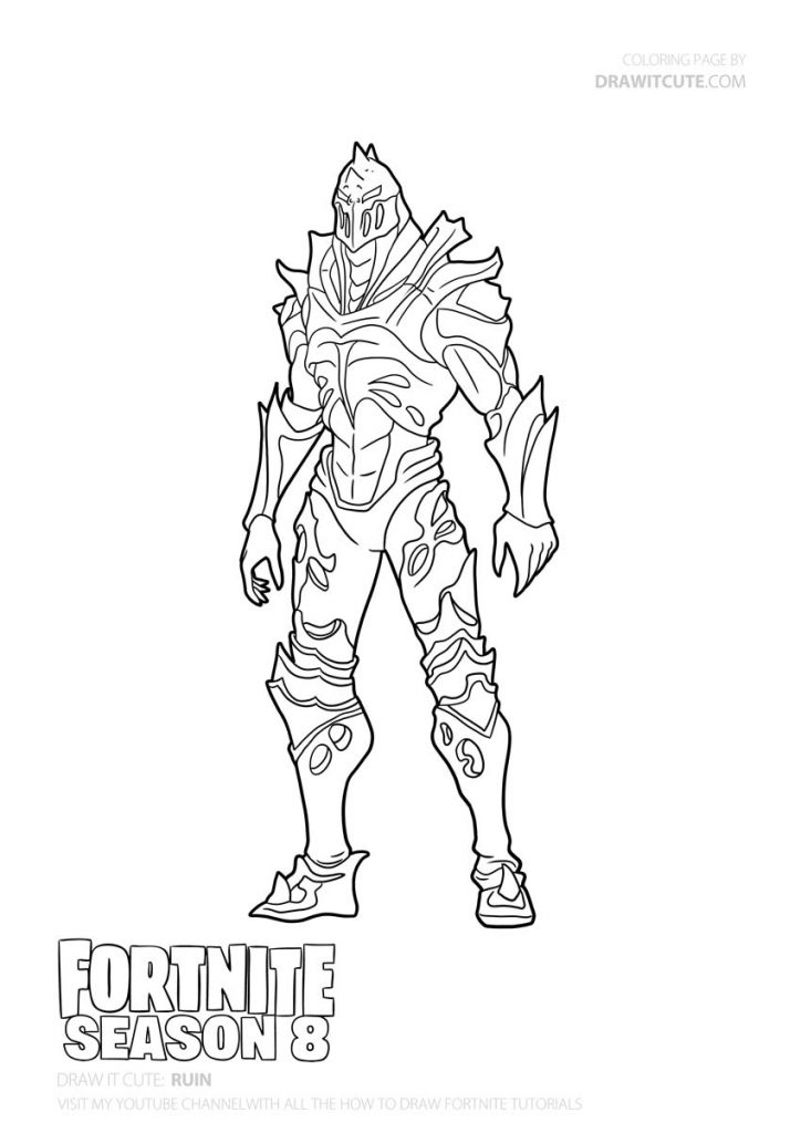 fortnite season 8 coloring pages how to draw prickly patroller fortnite season 8 tutorial pages season coloring 8 fortnite