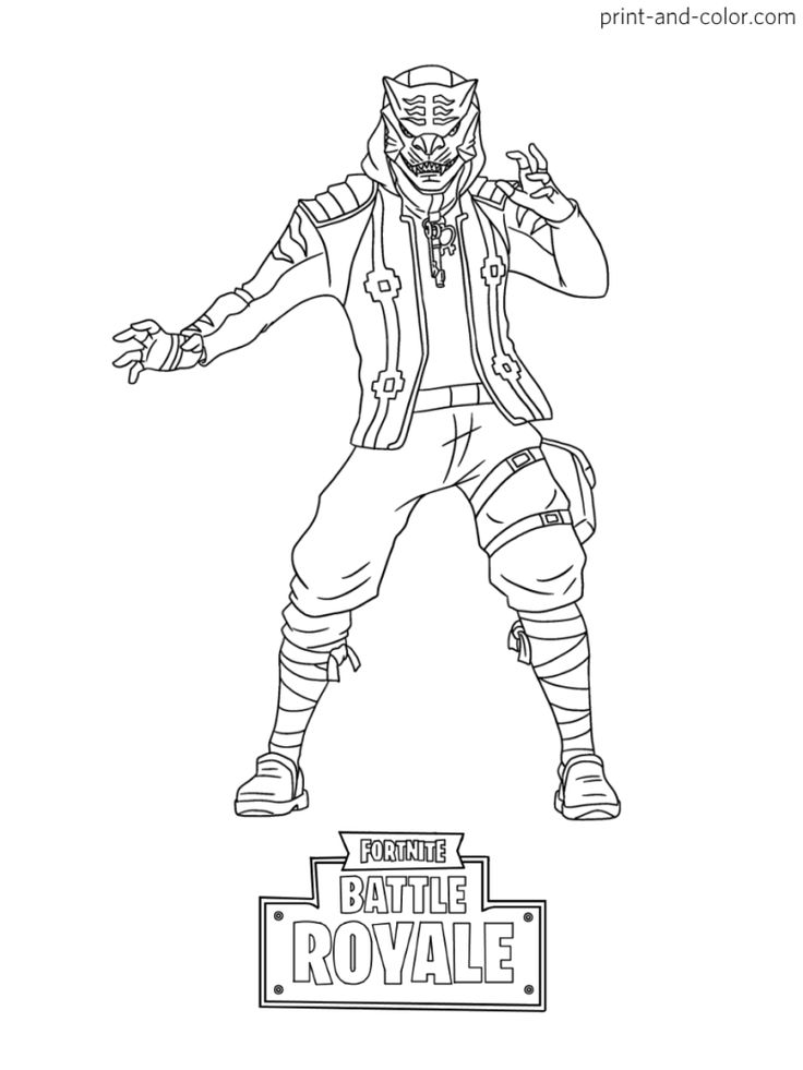 Fortnite season 8 coloring pages