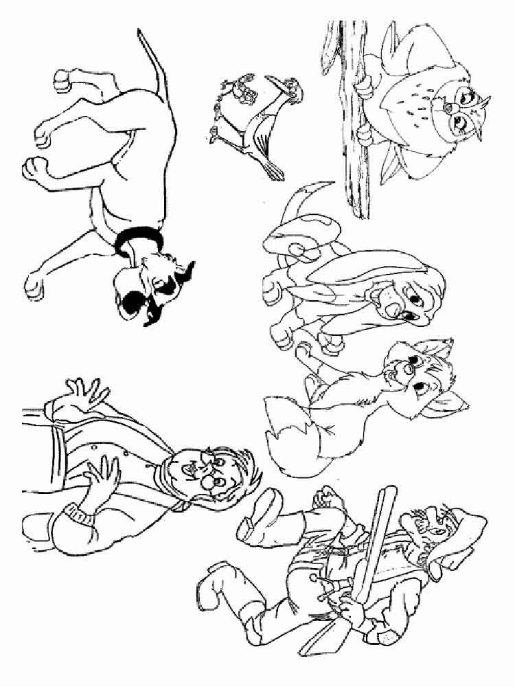 fox and the hound coloring pages free fox and the hound coloring pages to print download coloring hound fox the pages and