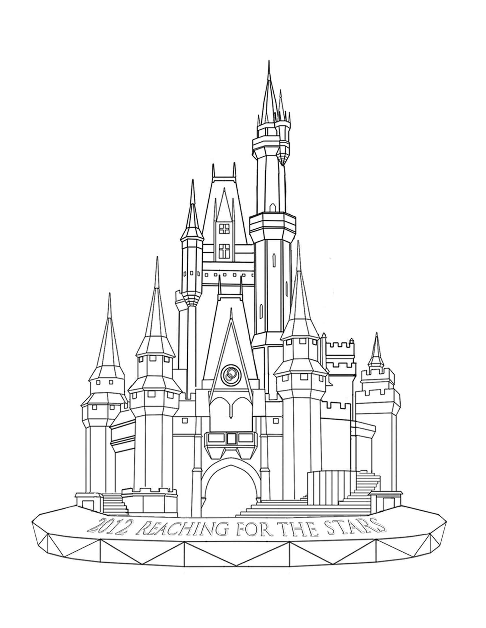 free castle coloring pages free coloring page coloring architecture castle big castle pages coloring free