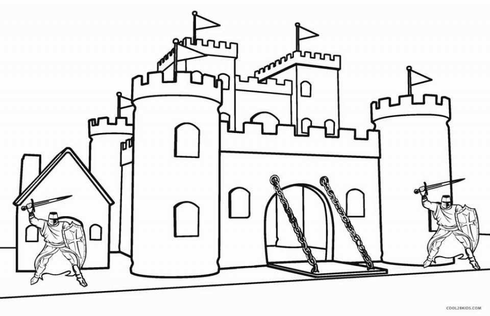 free castle coloring pages free printable castle coloring pages for kids and adults coloring castle free pages