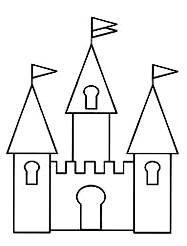 free castle coloring pages free printable castle coloring pages for kids coloring home castle pages coloring free