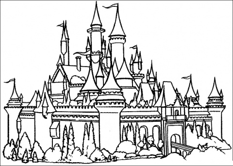 free castle coloring pages free printable castle coloring pages for kids free castle coloring pages