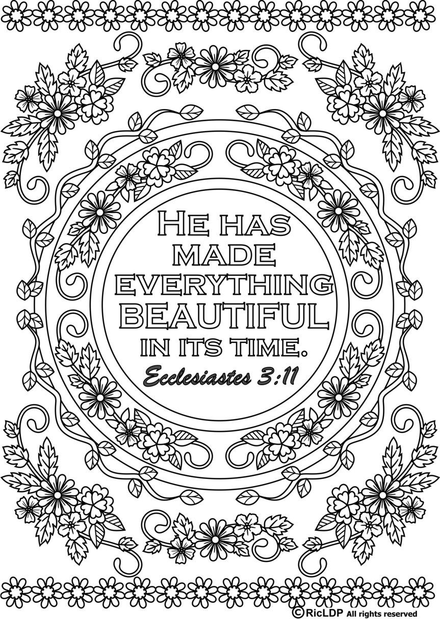 free coloring bible pages ecclesiastes printable sundayschoolist coloring free bible pages