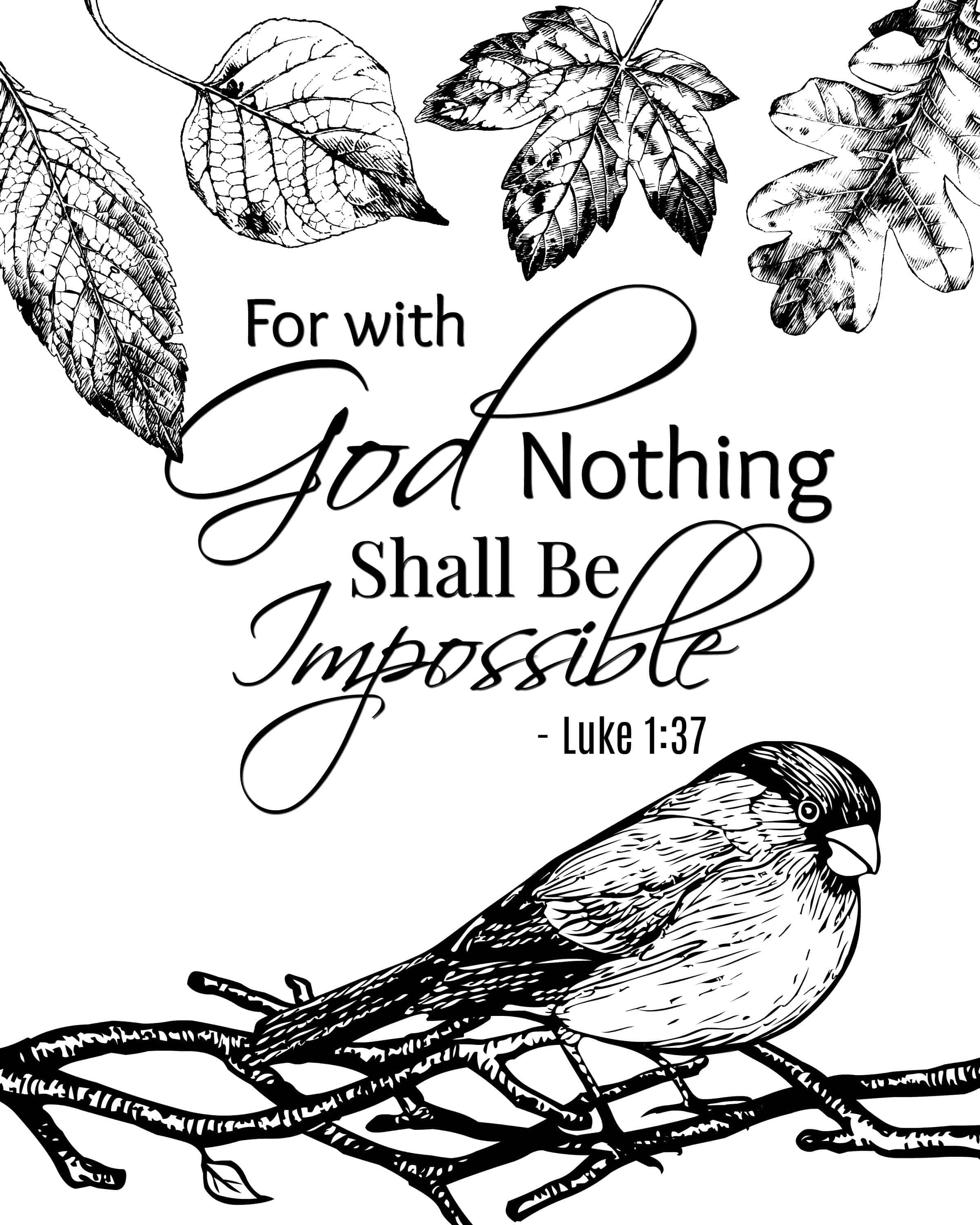 Free coloring bible pages