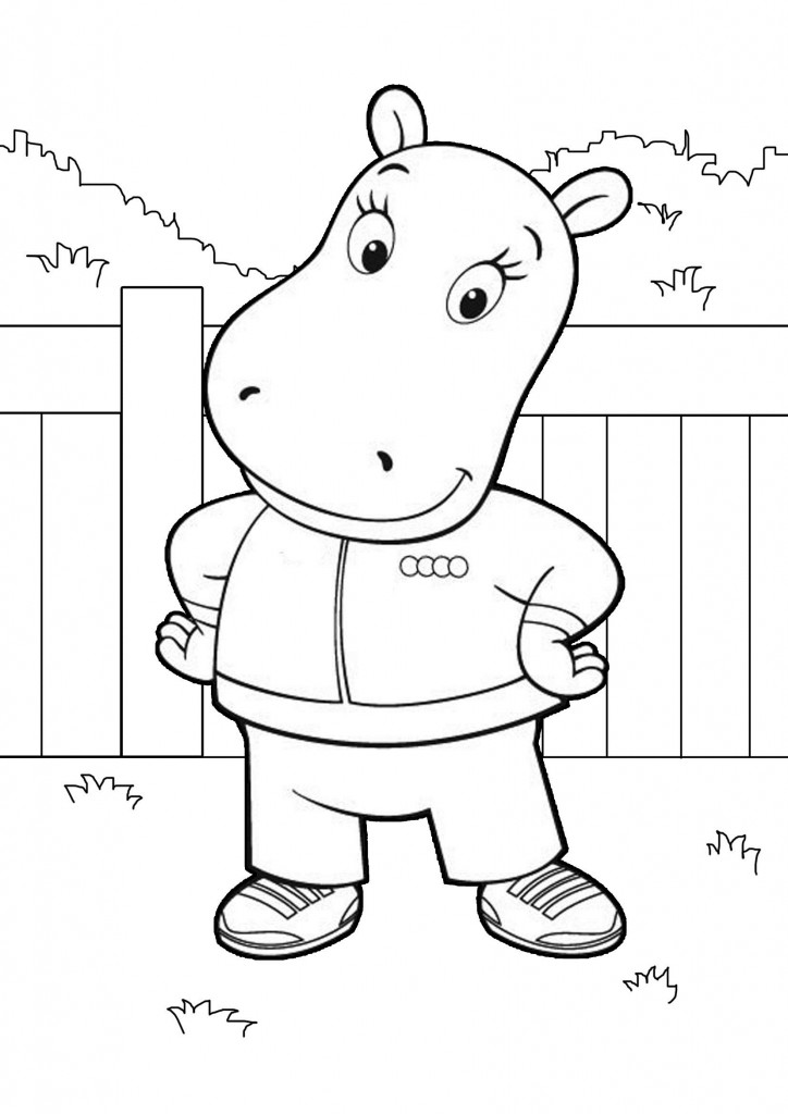 free coloring pages for kids free printable backyardigans coloring pages for kids kids pages for free coloring
