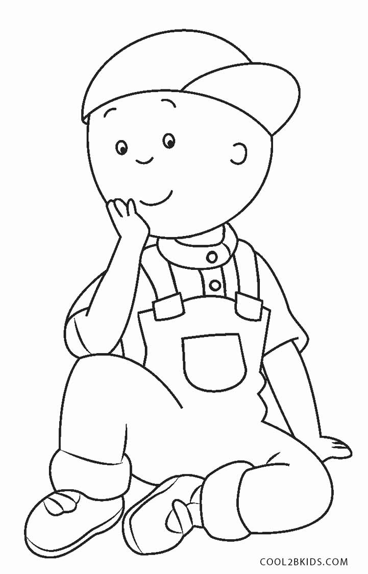 free coloring pages for kids free printable caillou coloring pages for kids cool2bkids coloring for pages free kids