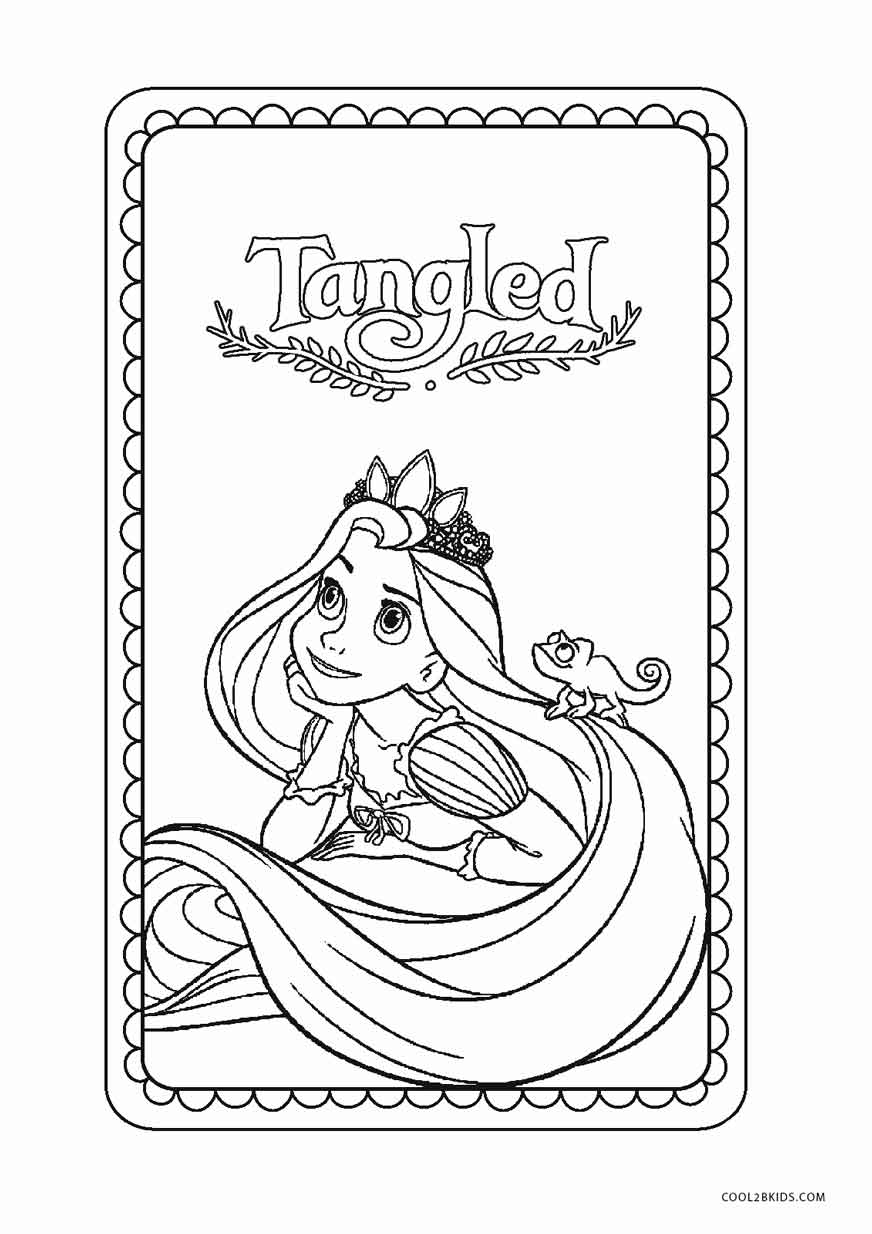 free coloring pages for kids free printable tangled coloring pages for kids cool2bkids kids for free pages coloring