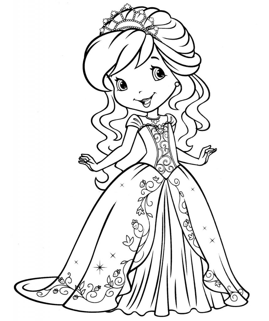 free coloring pages girls baby princess coloring pages to download and print for free girls coloring pages free