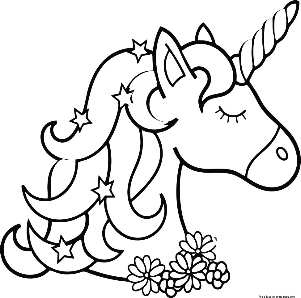 free coloring sheets unicorn unicorn coleriing sheet coloring pages  learny kids coloring sheets free unicorn
