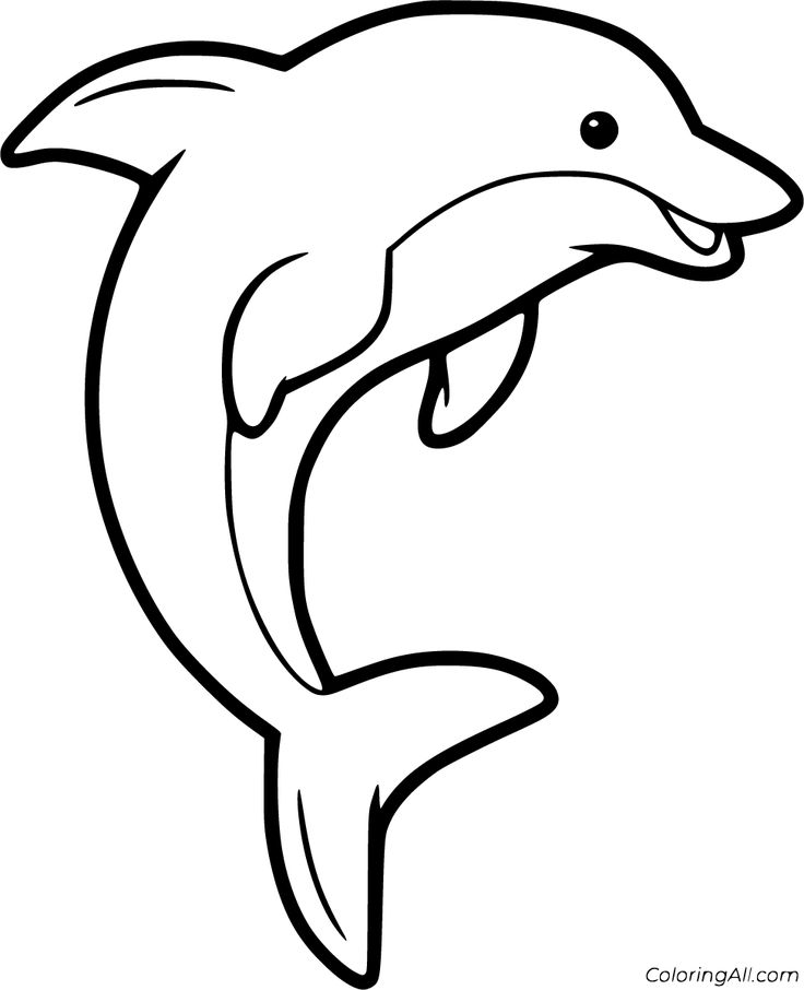 free dolphin pictures to print friendly underwater creature 20 dolphin coloring pages dolphin free print pictures to