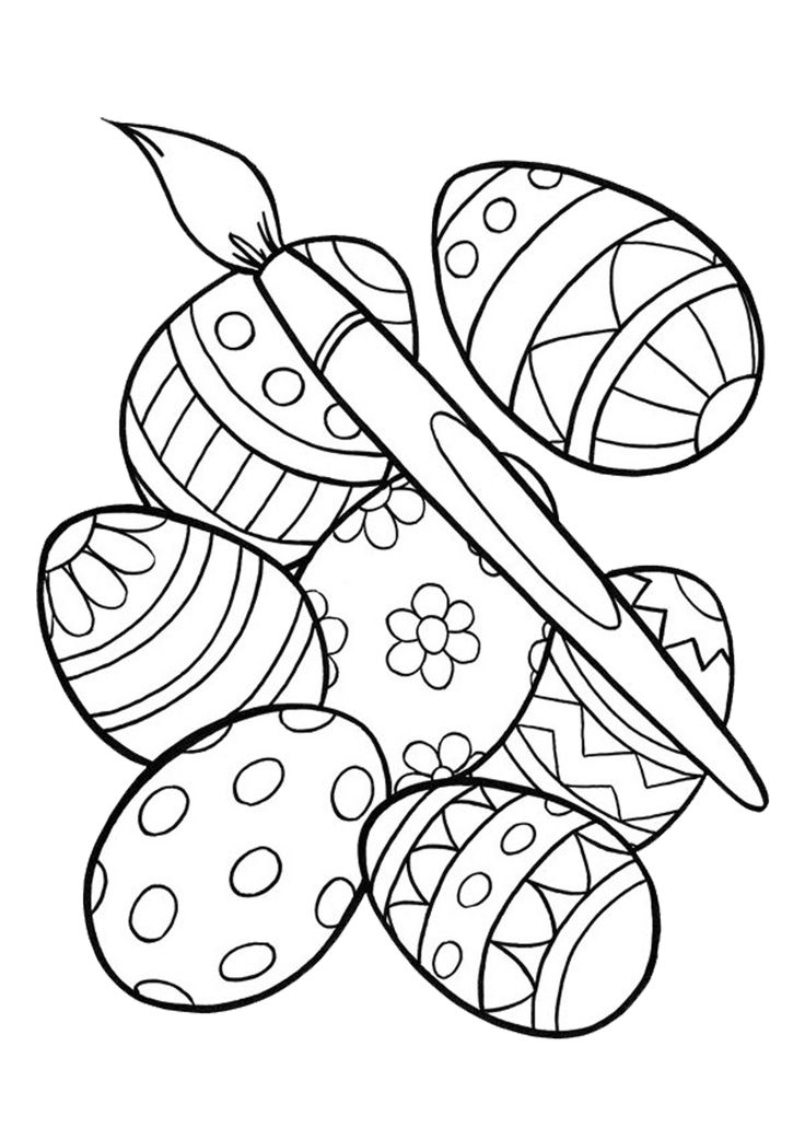 free easter coloring pages 8 free printable easter coloring pages your kids will love easter free coloring pages