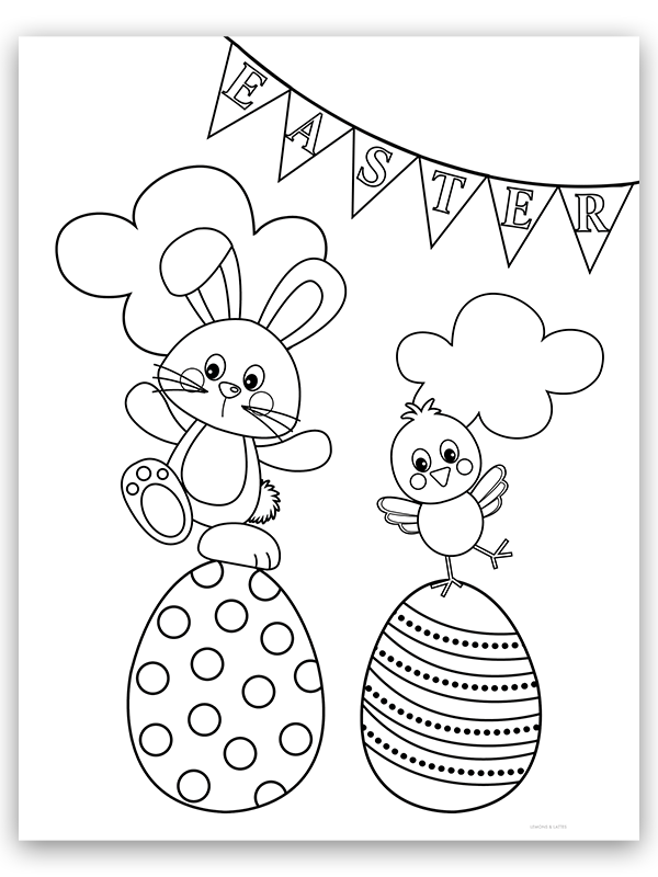 free easter coloring pages free printable easter coloring pages pages easter coloring free