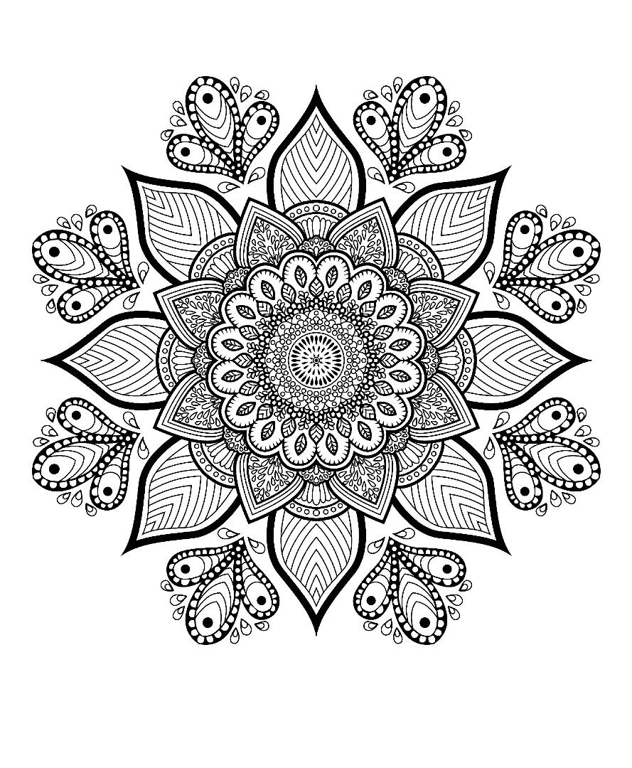 free mandala coloring pages for adults 34 best coloring pages images on pinterest agenda adults for mandala free pages coloring