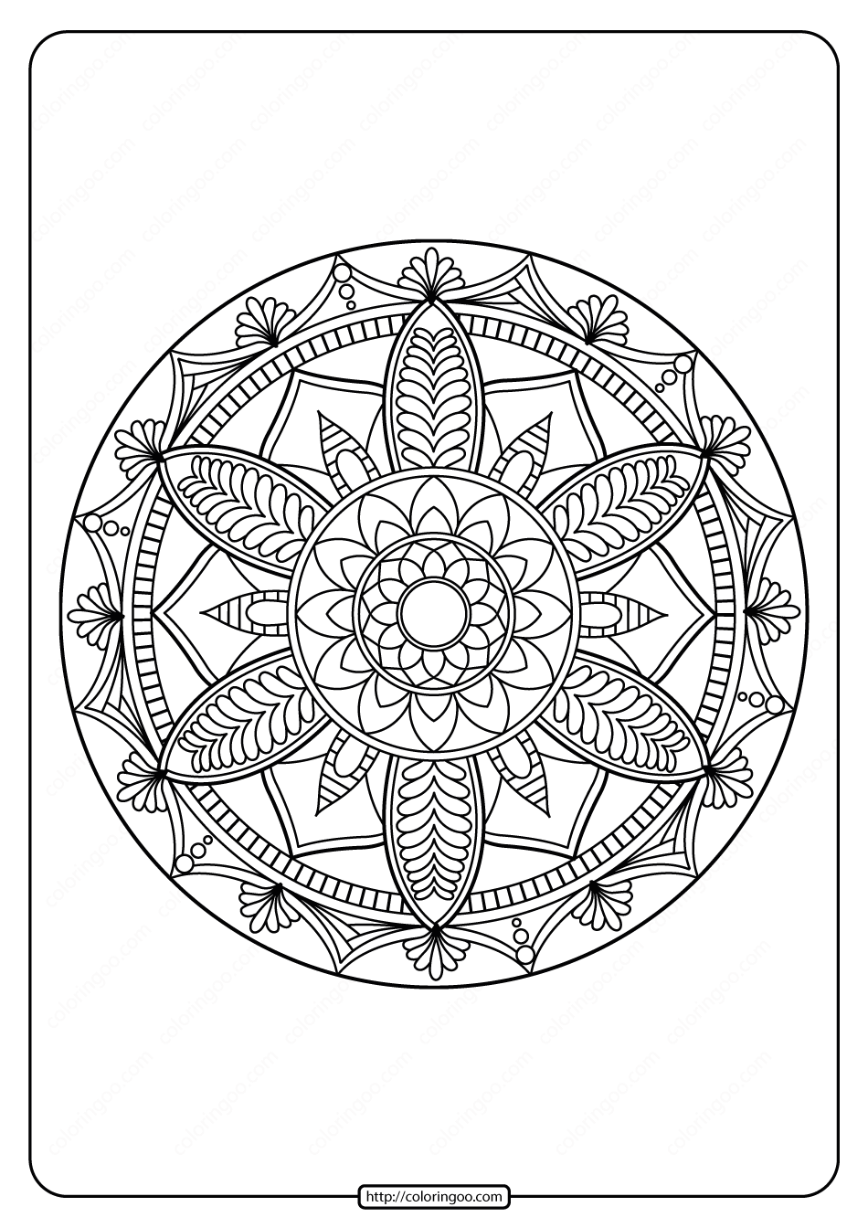 free mandala coloring pages for adults abstract mandala coloring page for adults diy printable pages mandala for free coloring adults