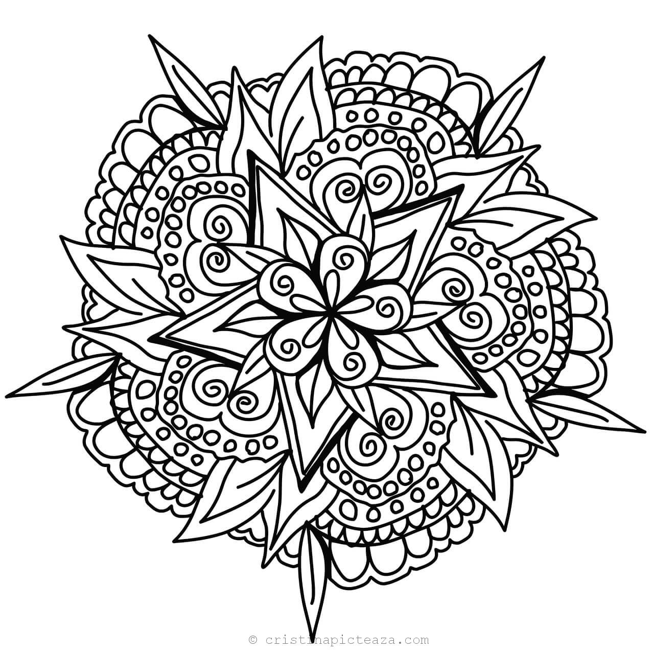 free mandala coloring pages for adults printable mandala coloring pages for kids cool2bkids mandala coloring free pages adults for