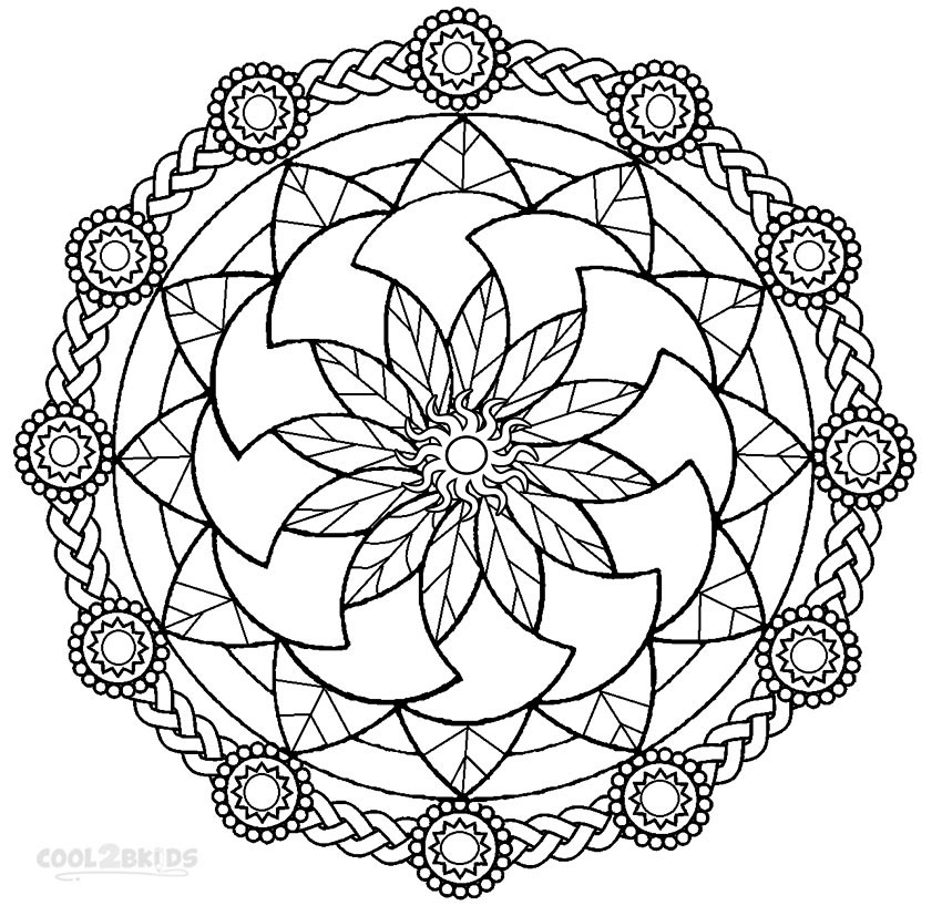 free mandala coloring pages for adults printable mandala coloring pages for kids for mandala coloring pages free adults